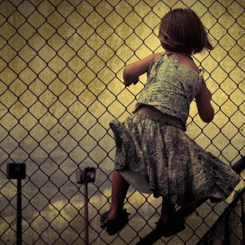 A piece of fine art art photography titled Escape by Michel Feugeas