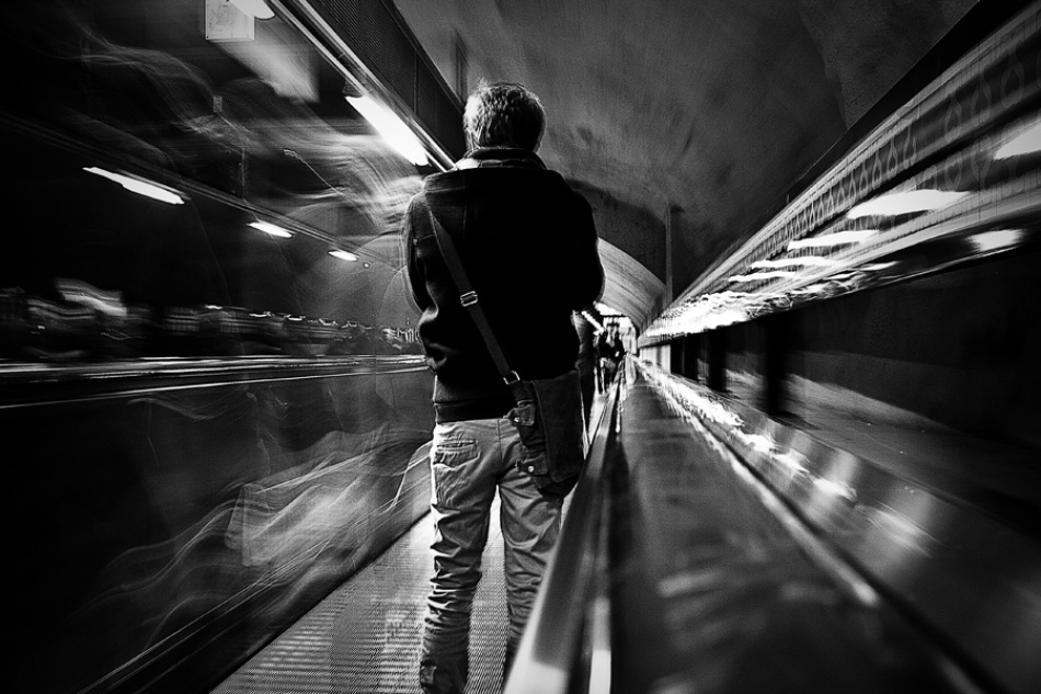 A piece of fine art art photography titled Fast Forward >> by Sean