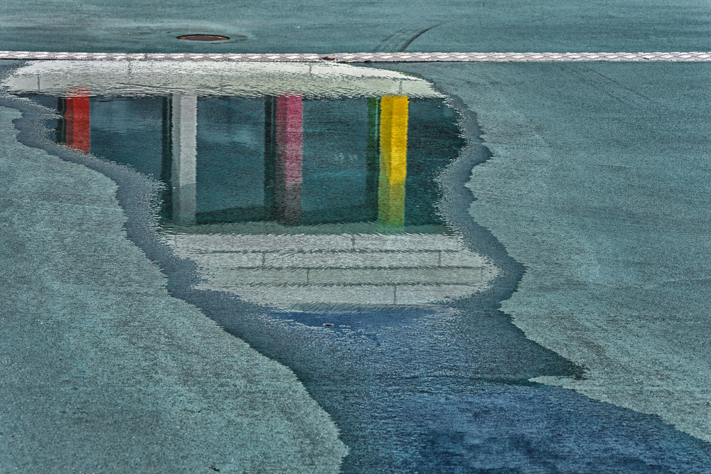 A piece of fine art art photography titled Biblion In the Rainbow by Henk van Maastricht