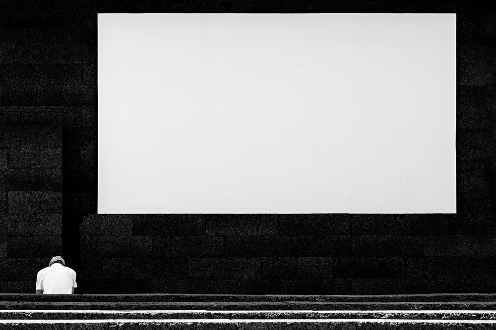 A piece of fine art art photography titled The Big Picture by K K - Carlos Costa