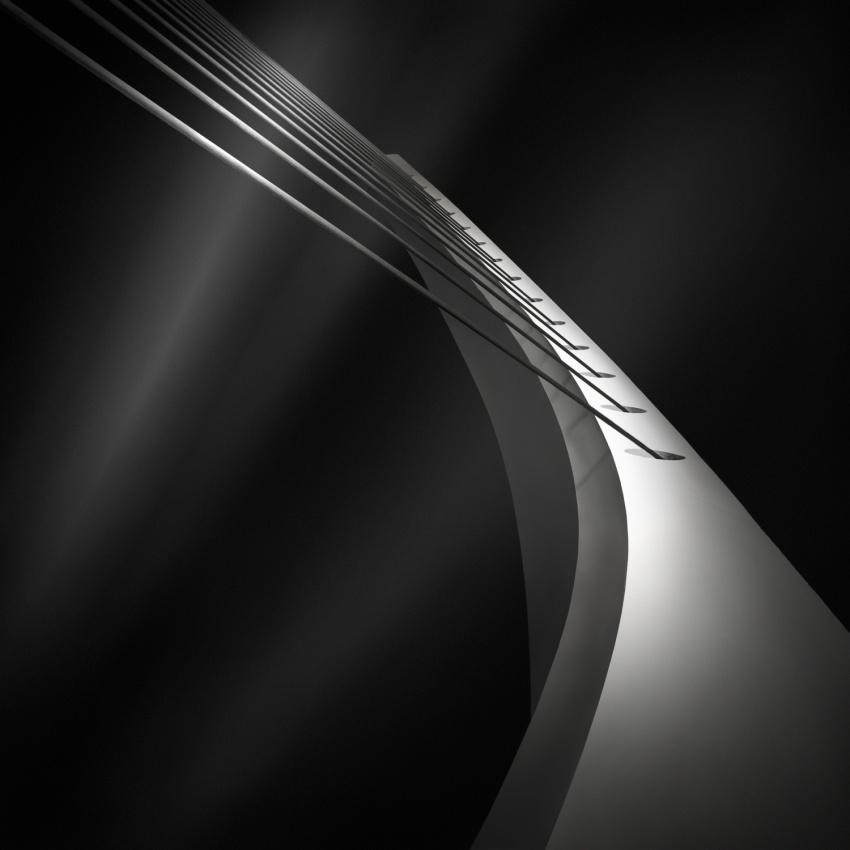 A piece of fine art art photography titled Like a Harp\'s Strings I - Overture by Julia Anna Gospodarou