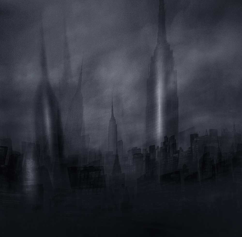A piece of fine art art photography titled Empire State Building by Carla DLM