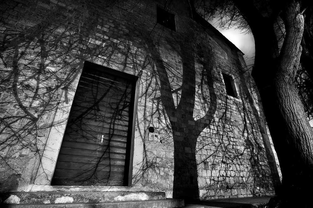 A piece of fine art art photography titled Spooky Shadow by Ante Vukosa