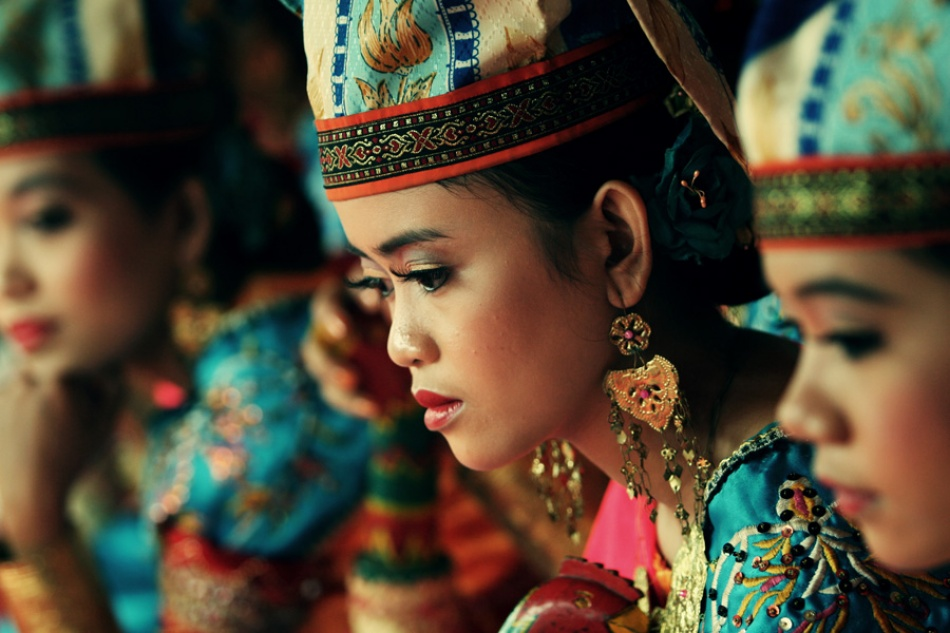 A piece of fine art art photography titled Colour of Culture by Thaib Chaidar