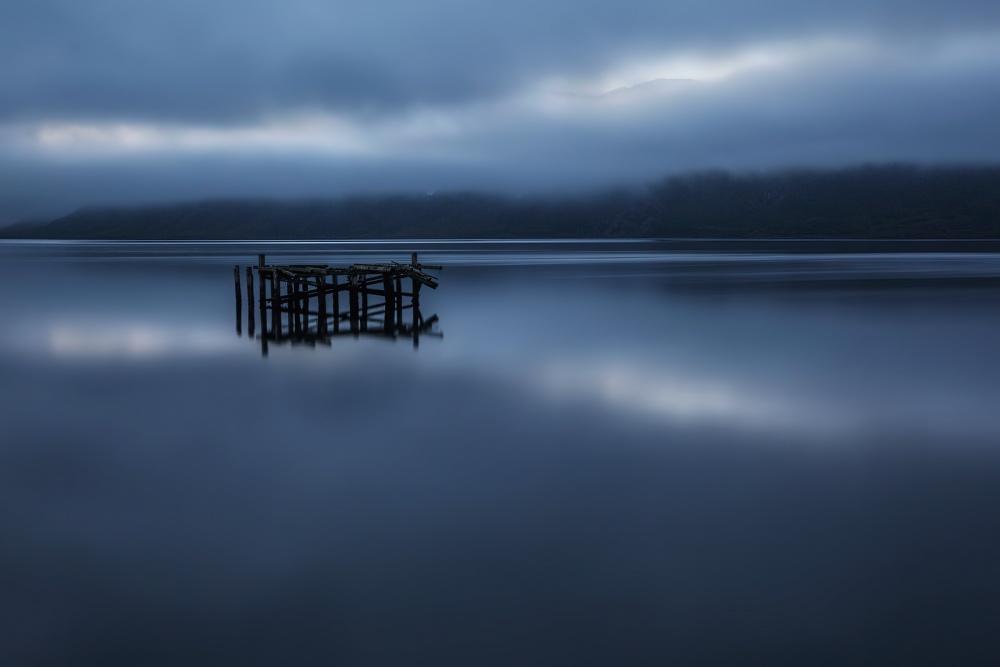 A piece of fine art art photography titled Midnight Blues by Bragi Ingibergsson - BRIN