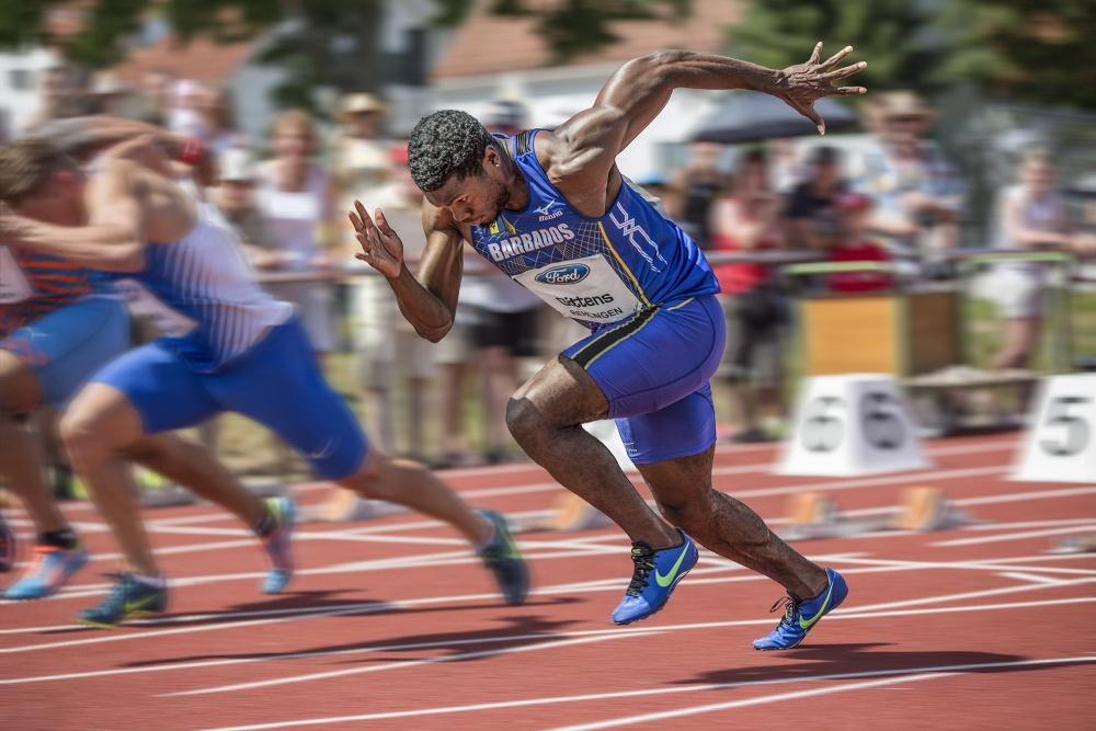 A piece of fine art art photography titled Final Race by Rainer Mueller