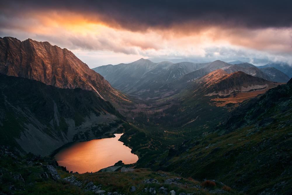 The silent sunset