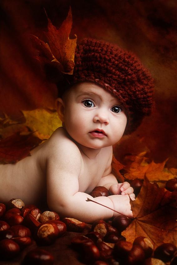 A piece of fine art art photography titled First Autumn by Sylwester Szymanski