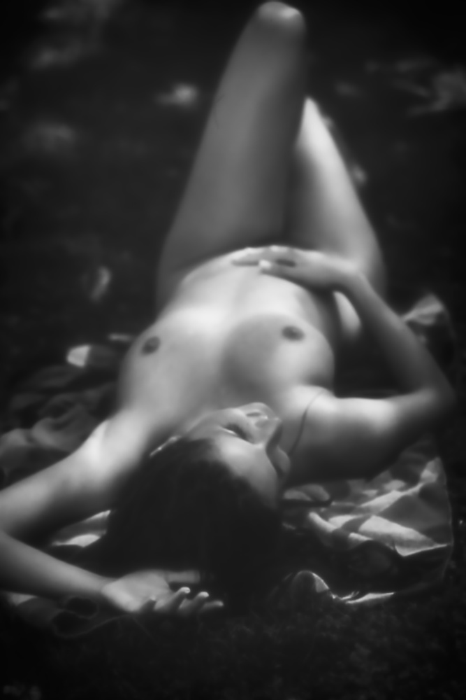 A piece of fine art art photography titled Enjoy the Nude by Simon ChengLu