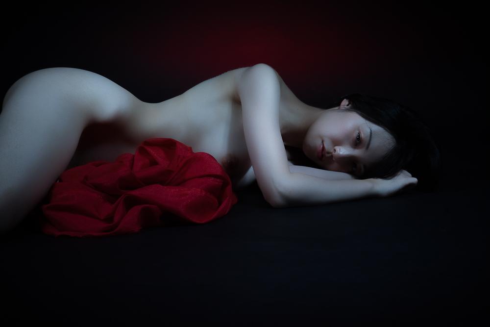 A piece of fine art art photography titled Hikari by kouji maruyama