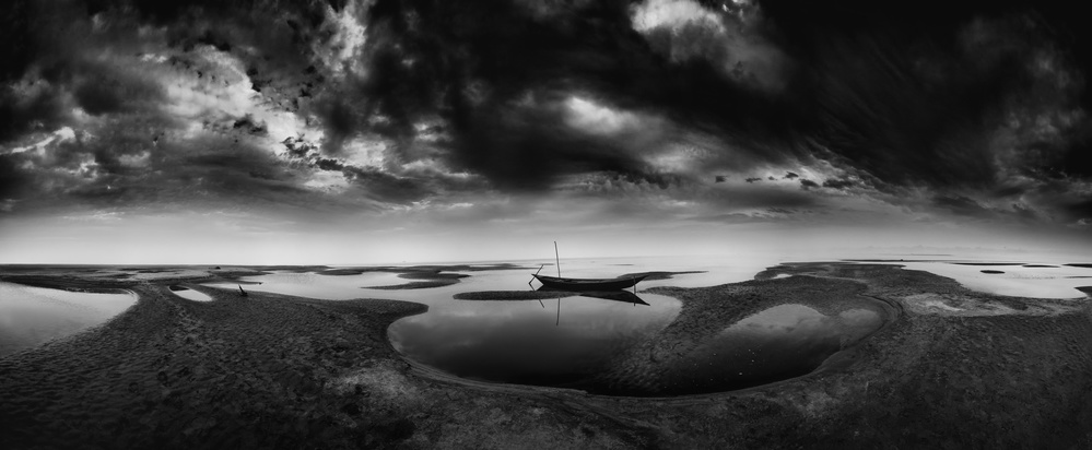A piece of fine art art photography titled Solitary by Mohammad Rahman