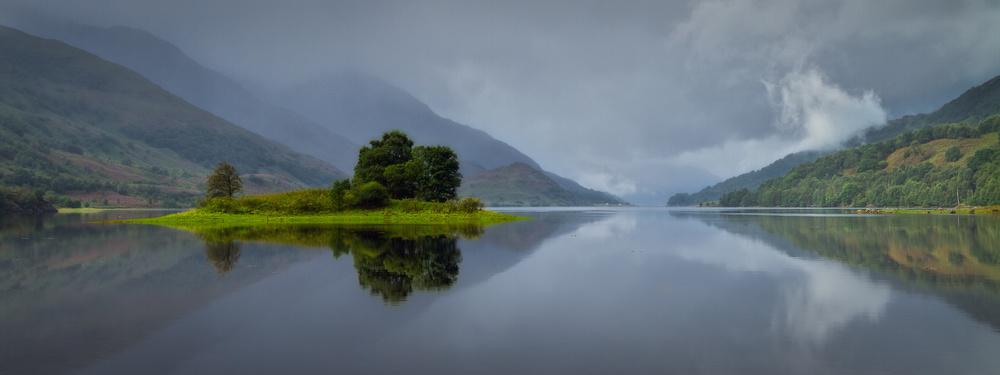 Scottish autumn reflections