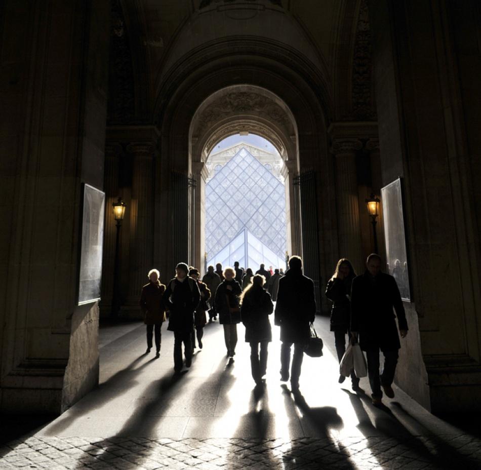 A piece of fine art art photography titled Le Passage by lafayette
