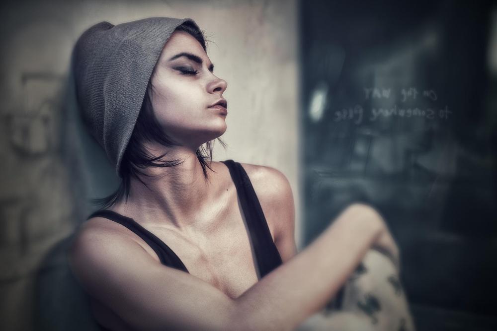 A piece of fine art art photography titled Dancer by Velizar Ivanov