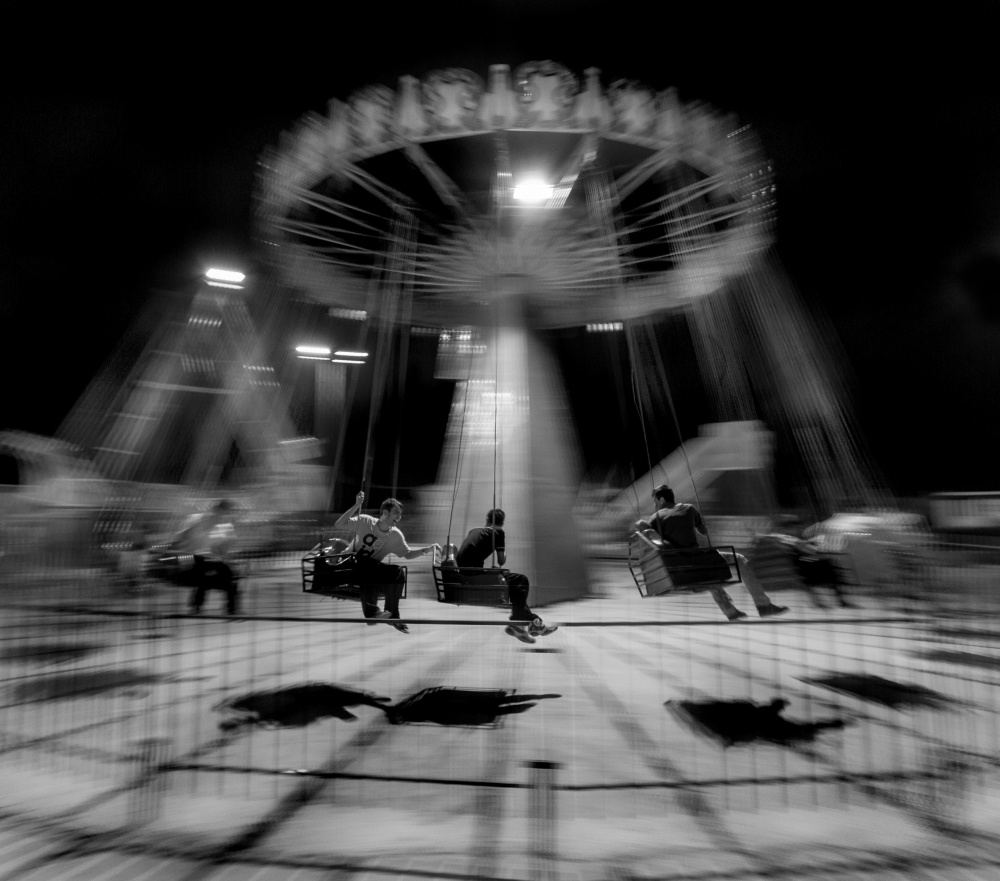 View this piece of fine art photography titled Ferris Wheel of Life by Shirley Shen