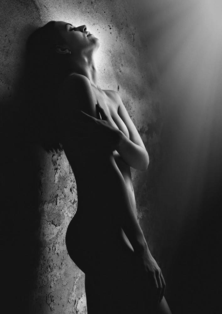 A piece of fine art art photography titled Alexa by Jozef Kiss