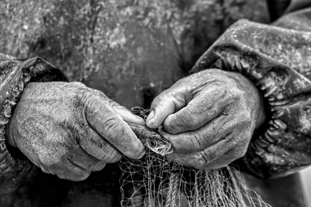 A piece of fine art art photography titled Tired Lifetimes by Adnan Korhan Karusagi
