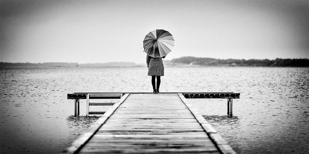 A piece of fine art art photography titled Lonely Sunday by Leif Løndal