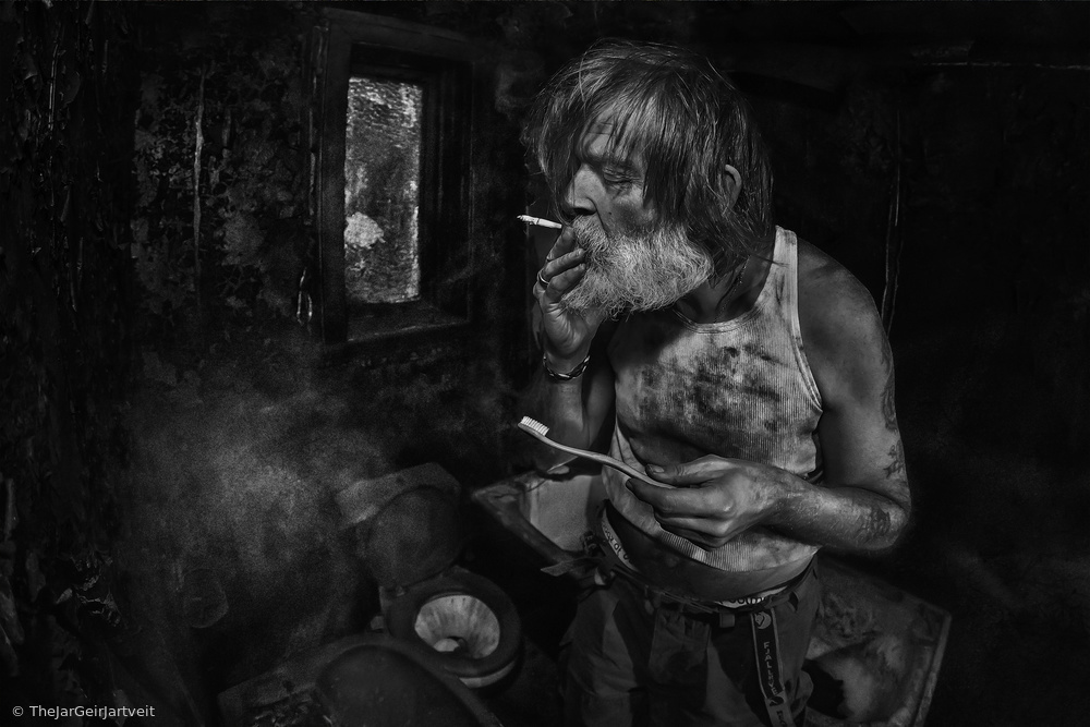 A QUICK SMOKE