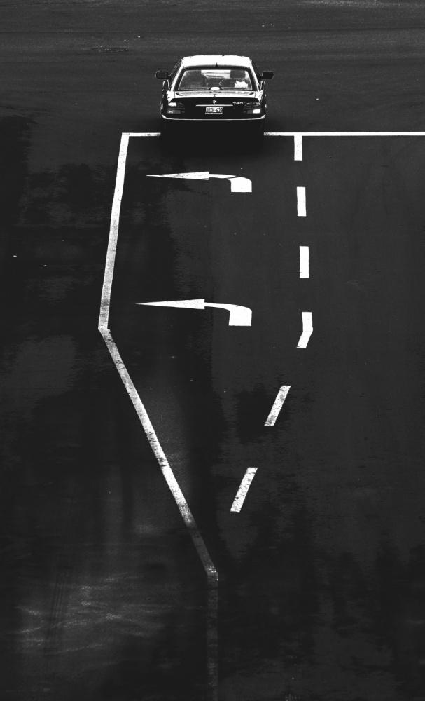 A piece of fine art art photography titled Turn Left by Jian Wang