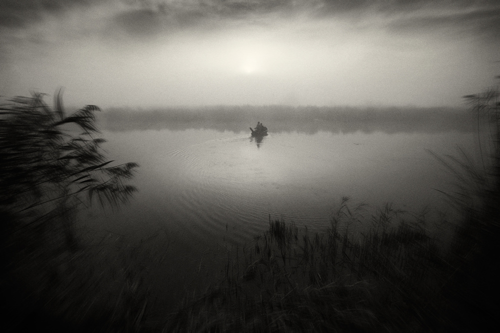 A piece of fine art art photography titled Sail Away by Sebastian Prioteasa