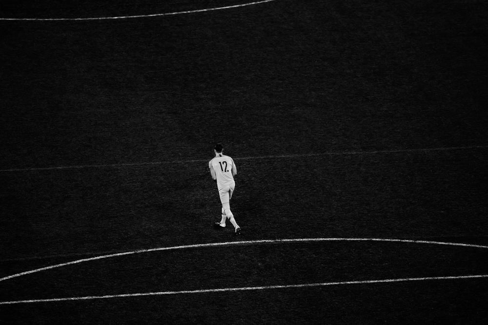 A piece of fine art art photography titled Goalkeeper by Despird Zhang