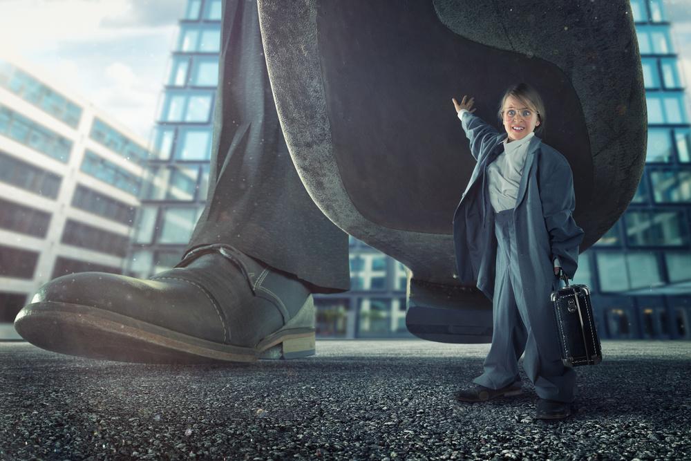 A piece of fine art art photography titled The Joy of Capitalism by John Wilhelm