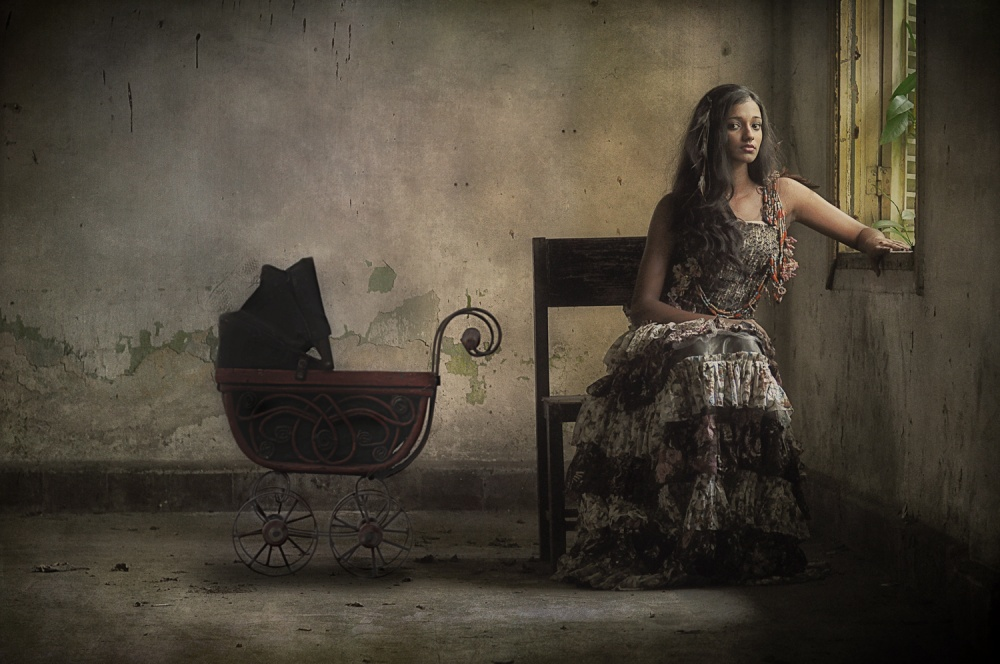 A piece of fine art art photography titled Gypsy by Joey Bangun