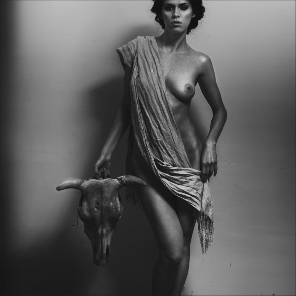 A piece of fine art art photography titled Nemesis by Alexander Pereverzov