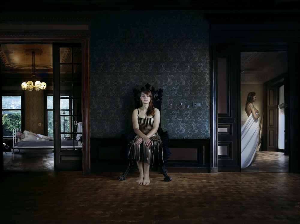 A piece of fine art art photography titled The Room by Patrizia Burra