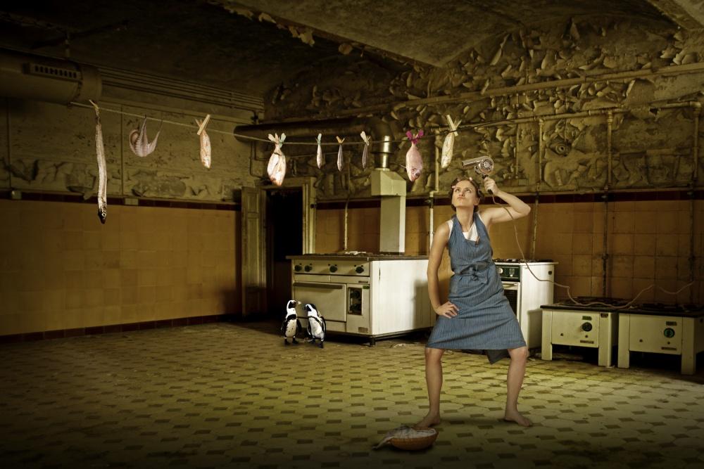 A piece of fine art art photography titled Dry Fish by Christine von Diepenbroek