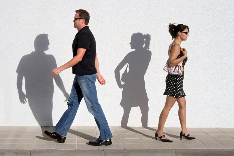 A piece of fine art art photography titled Inner Movement by Christa Schweins