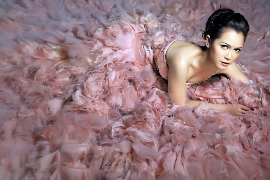 A piece of fine art art photography titled The Bride by Ario Wibisono