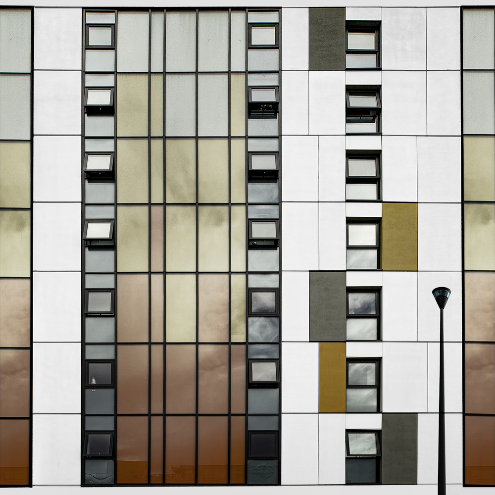 A piece of fine art art photography titled Manchester Facade by Inge Schuster