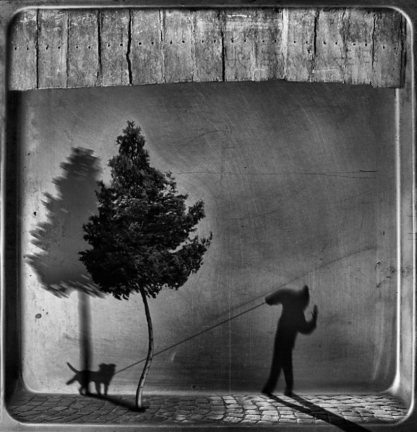 A piece of fine art art photography titled Dispute In the Twilight Zone by Wojciech Pokora