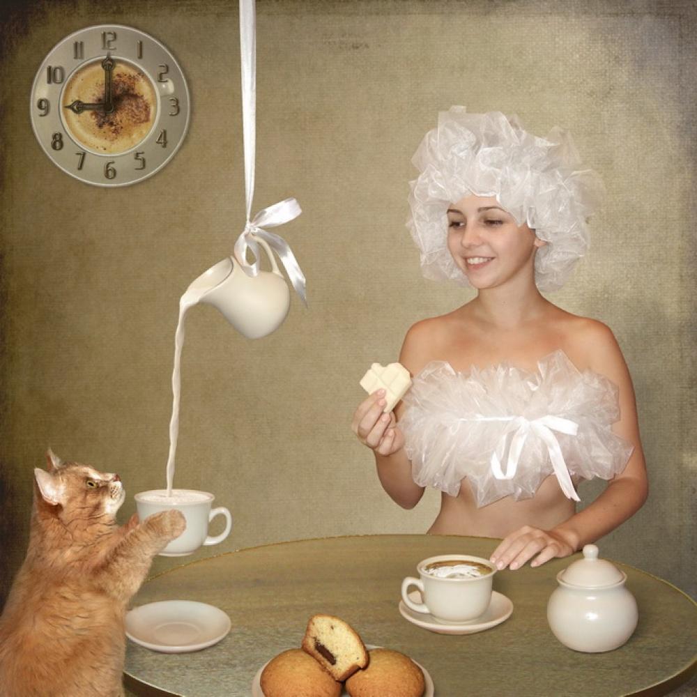 A piece of fine art art photography titled Breakfast  by Iryna Kuznetsova (Iridi)