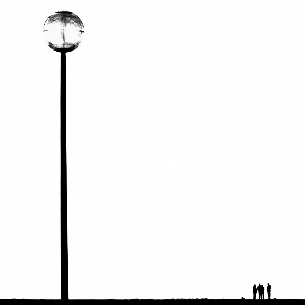 A piece of fine art art photography titled Artificial Sun by Carlo Cafferini