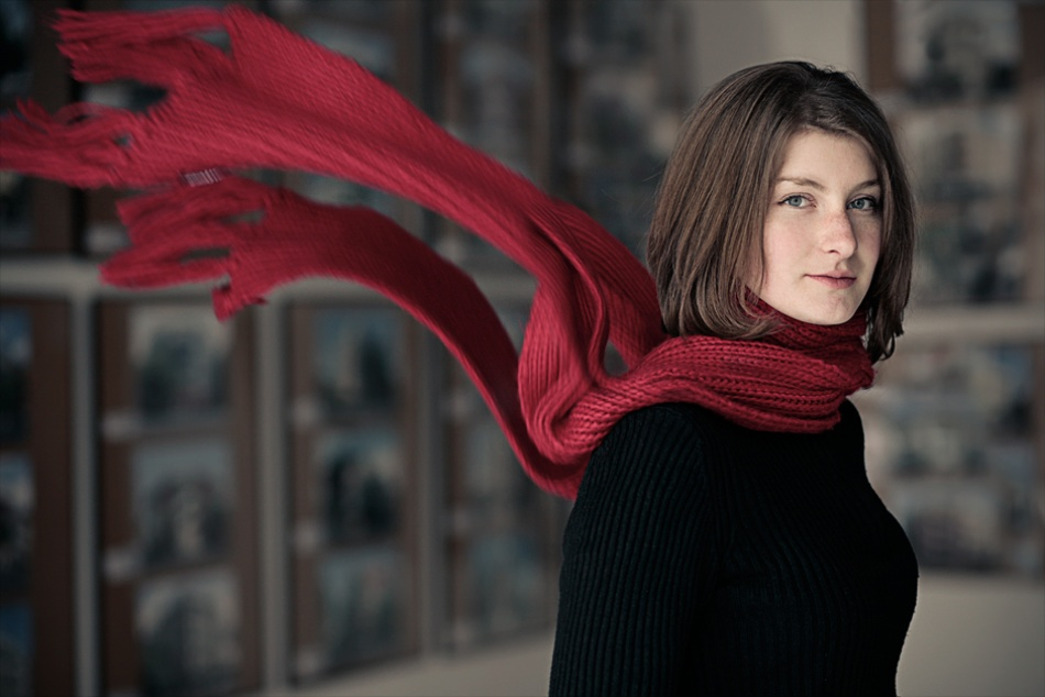 A piece of fine art art photography titled Gizelle by Bela Benedek