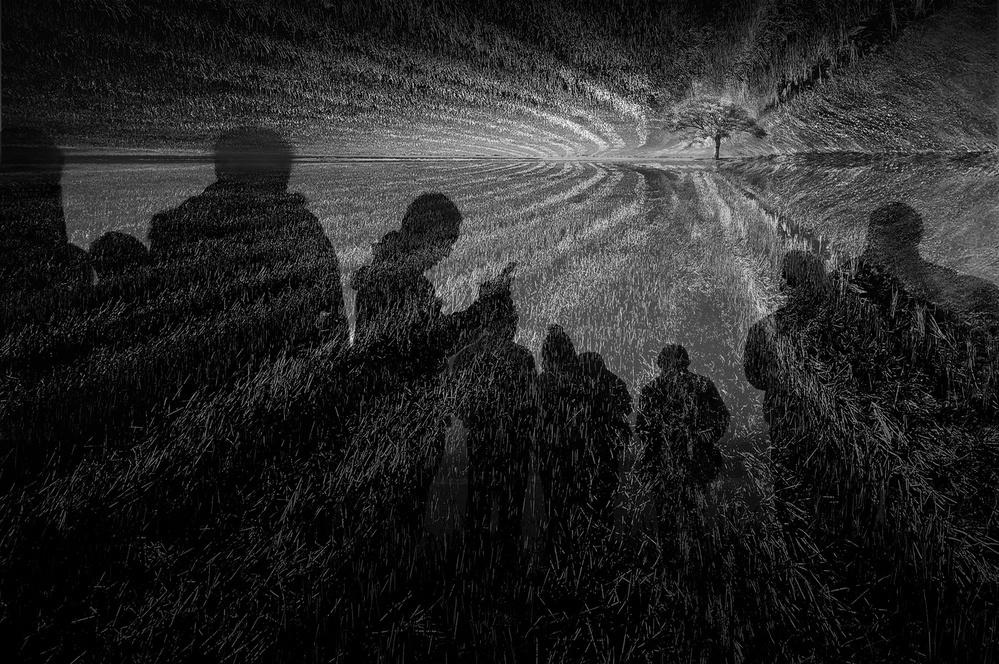 A piece of fine art art photography titled In the Field of Dream by Ekkachai Khemkum