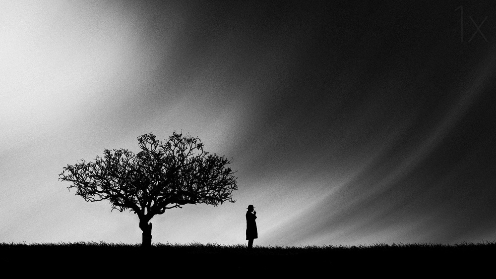 A piece of fine art art photography titled Solo by Hengki Lee