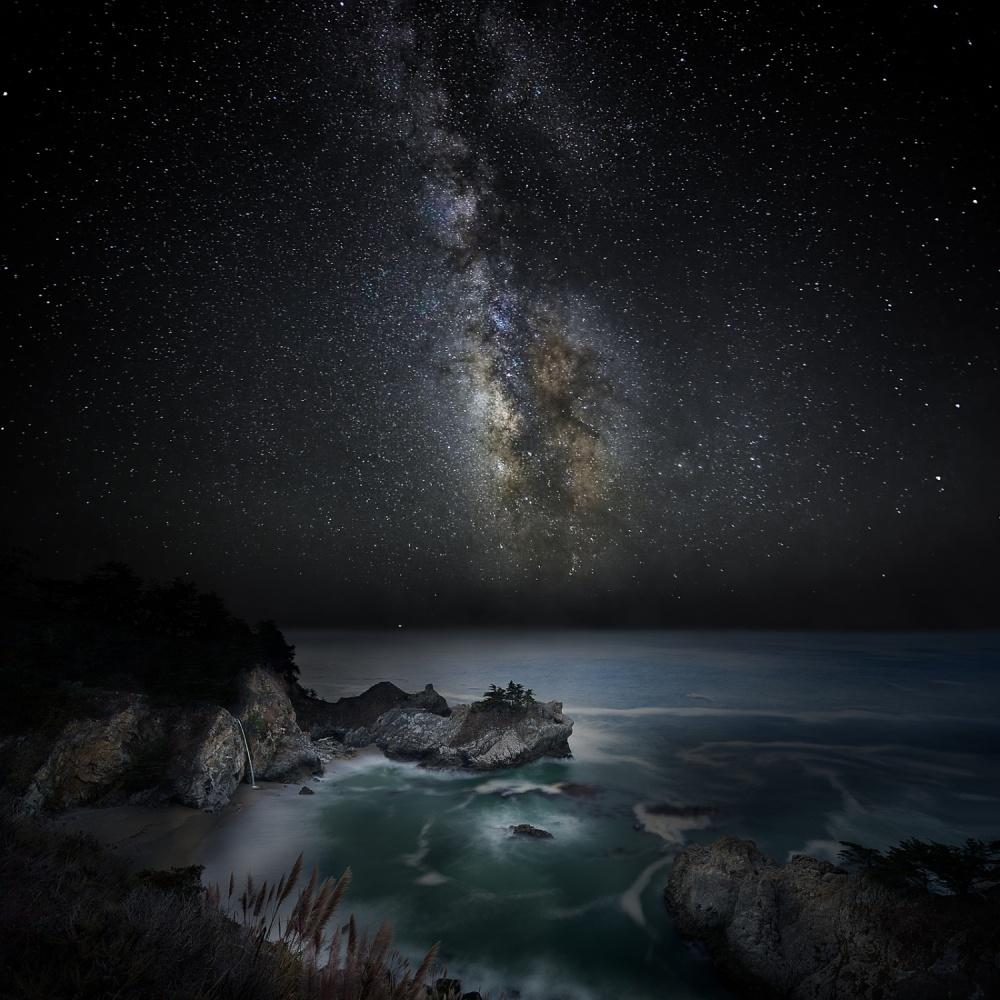 A piece of fine art art photography titled Whisper of Darkness by John Fan