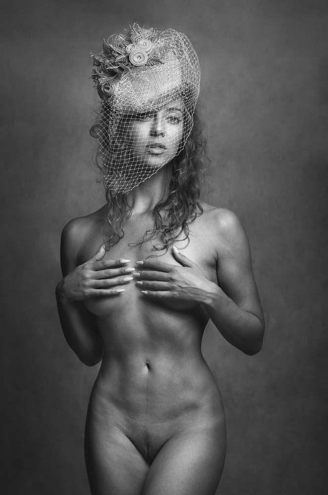 A piece of fine art art photography titled Yulia by Zachar Rise