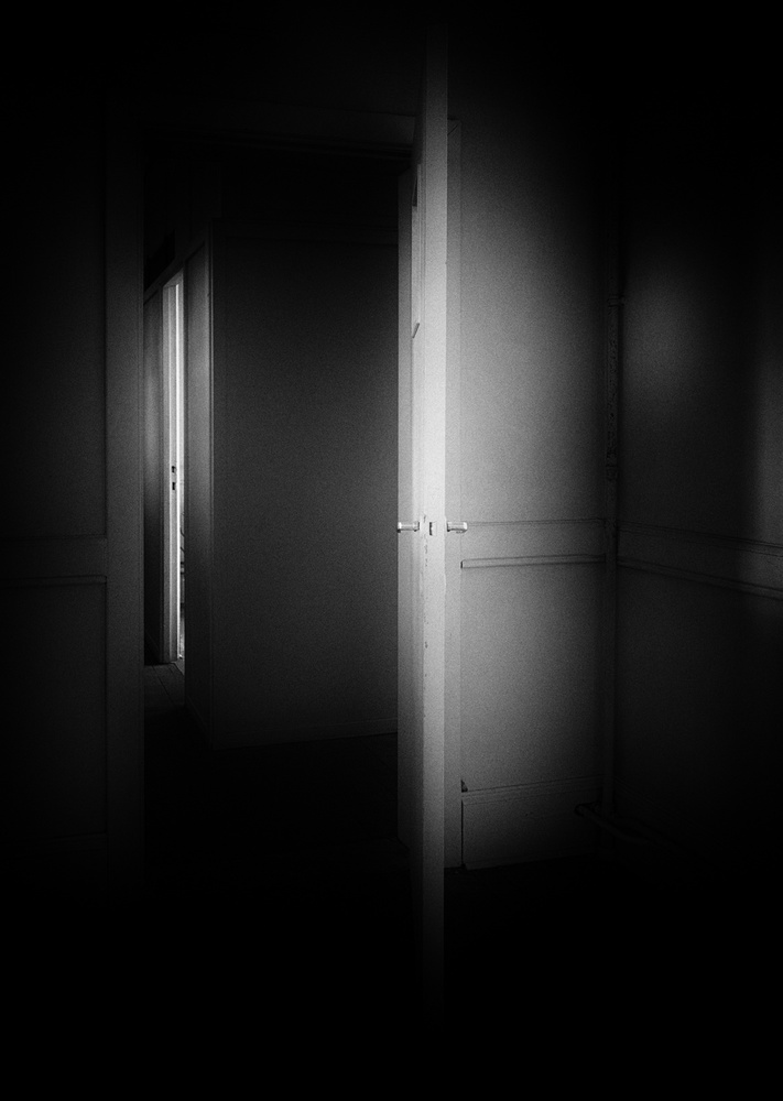 A piece of fine art art photography titled Open Door by Eddy Verloes