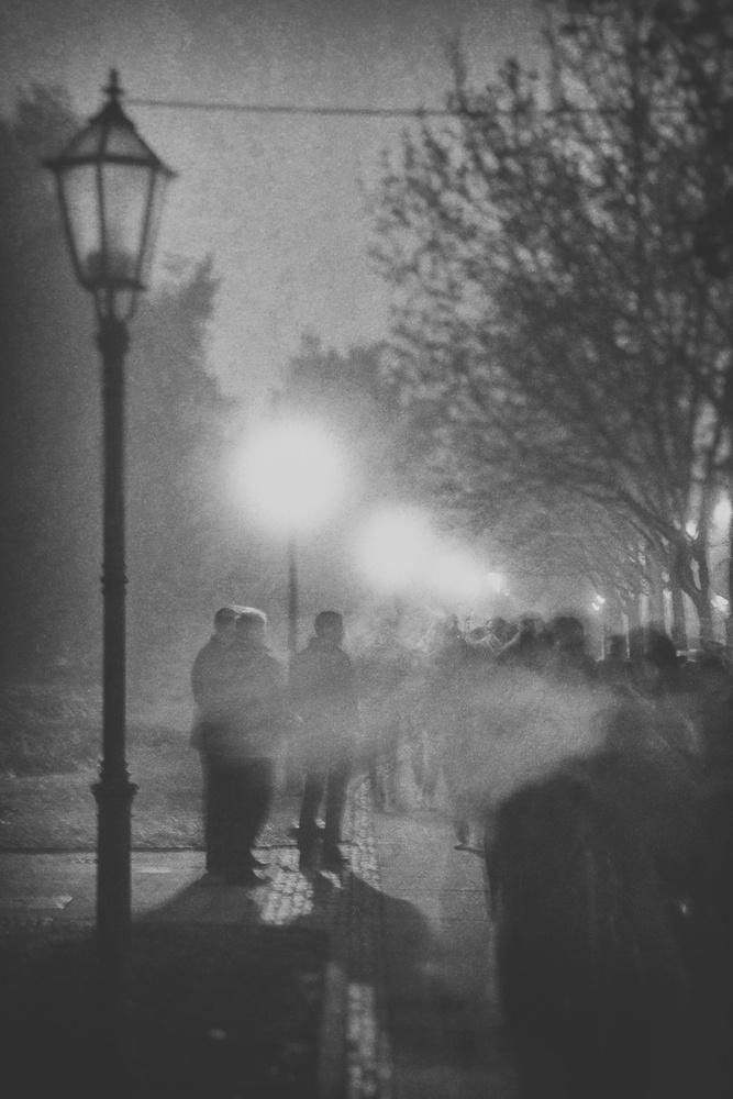 A piece of fine art art photography titled Cold Night by Filip Stimac