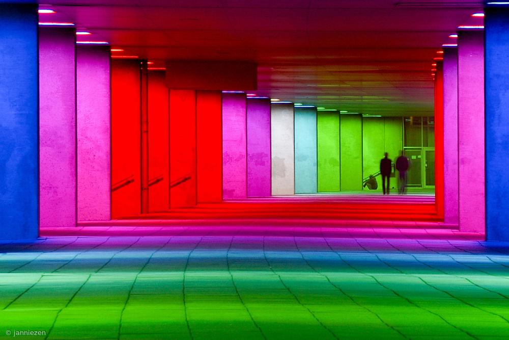 Rotterdam Corridor by night