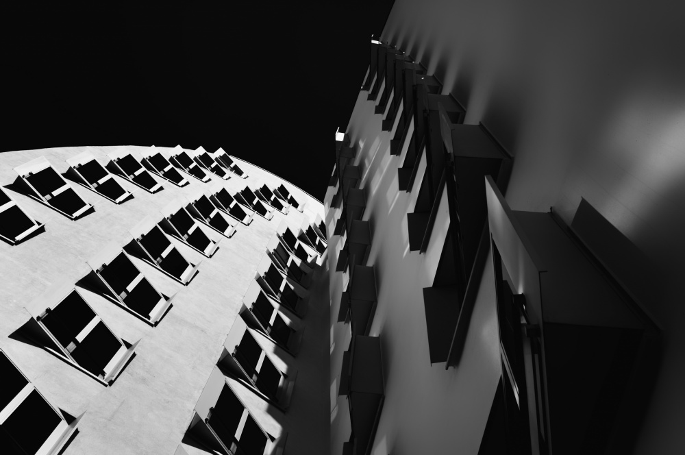 A piece of fine art art photography titled Gehry by Greetje van Son