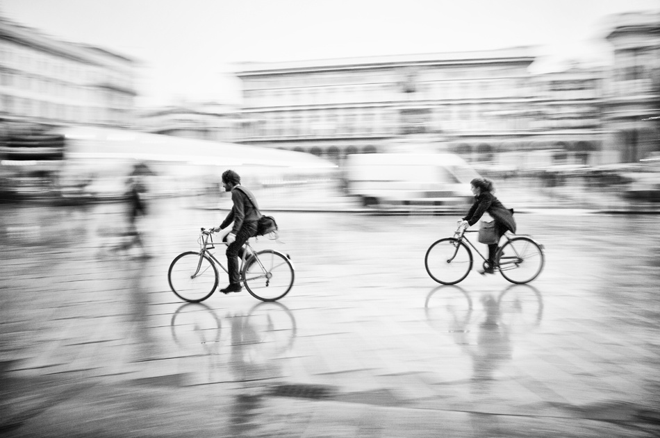 A piece of fine art art photography titled At the Speed of Two by Fabio Giannelli