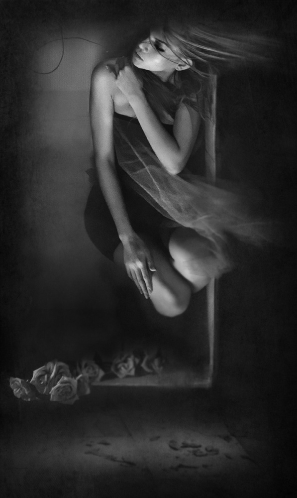 A piece of fine art art photography titled Sorrientation by Sebastian Kisworo