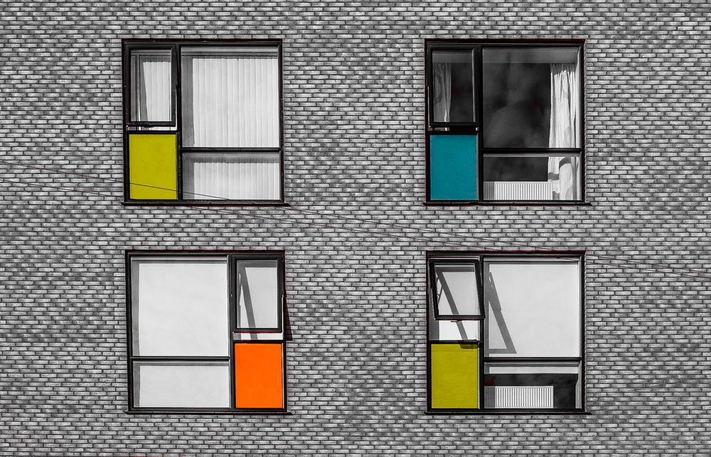 A piece of fine art art photography titled Open Windows by Inge Schuster