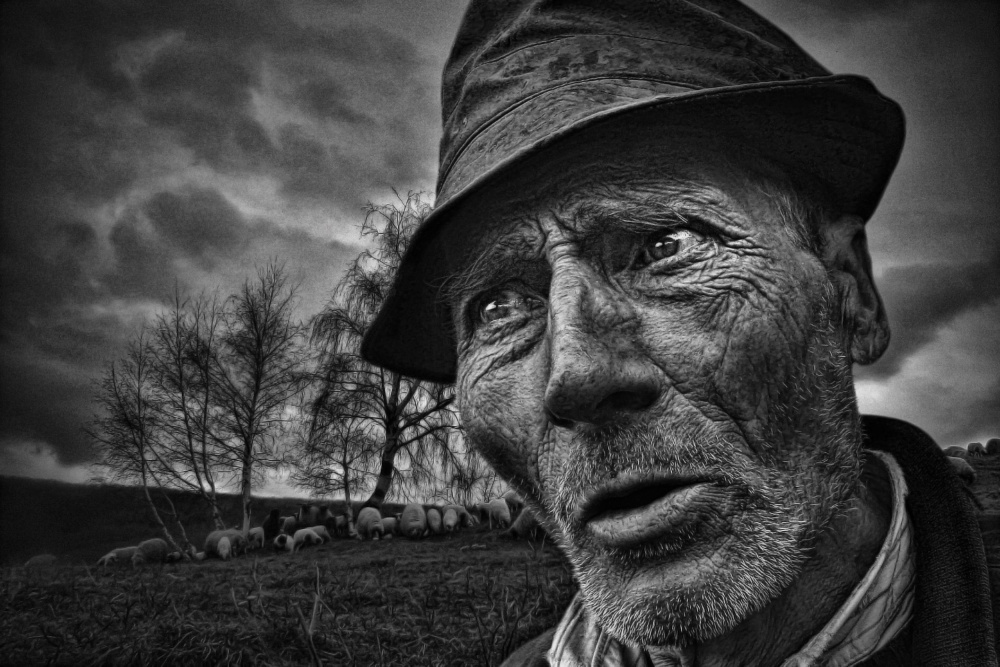 A piece of fine art art photography titled Highlander by Mirsad